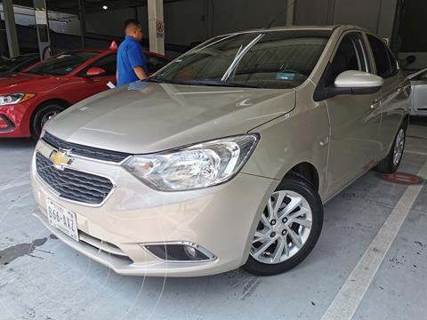 Chevrolet Aveo LTZ (Nuevo) usado (2018) color Gris financiado en mensualidades(enganche $45,000 mensualidades desde $4,241)