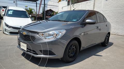 Chevrolet Aveo LS usado (2020) color Gris precio $200,000