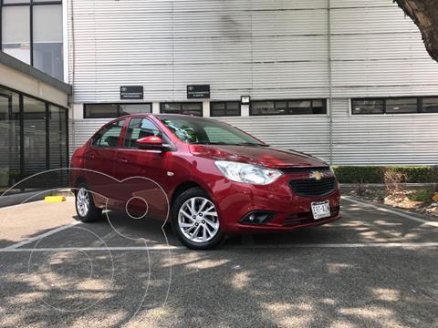 Chevrolet Aveo LS usado (2018) color Rojo precio $163,000