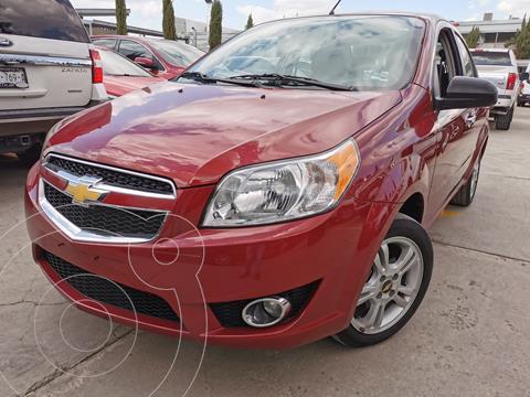 Chevrolet Aveo LTZ usado (2018) color Rojo precio $170,000