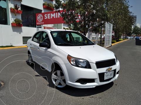 Chevrolet Aveo LT usado (2015) color Blanco precio $115,000