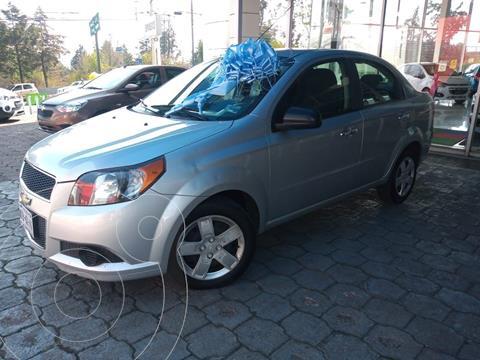 Chevrolet Aveo LT usado (2017) color Plata Dorado precio $135,000