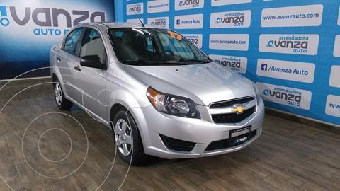 Chevrolet Aveo LS usado (2017) color Plata Dorado precio $130,000