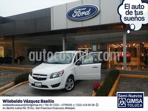 Chevrolet Aveo LT usado (2018) color Blanco precio $163,000