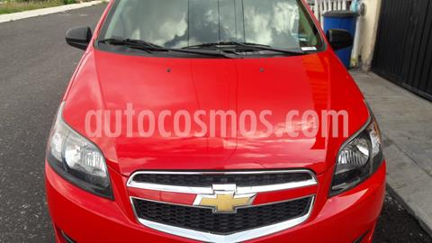 Chevrolet Aveo LT usado (2017) color Rojo Victoria precio $115,000