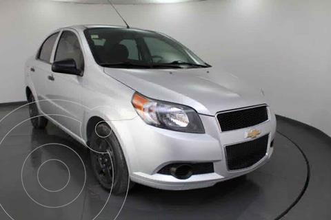 Chevrolet Aveo LS usado (2017) color Plata precio $119,000