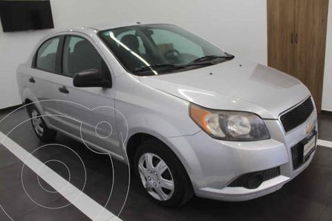 Chevrolet Aveo LS Aa usado (2014) color Plata precio $95,000