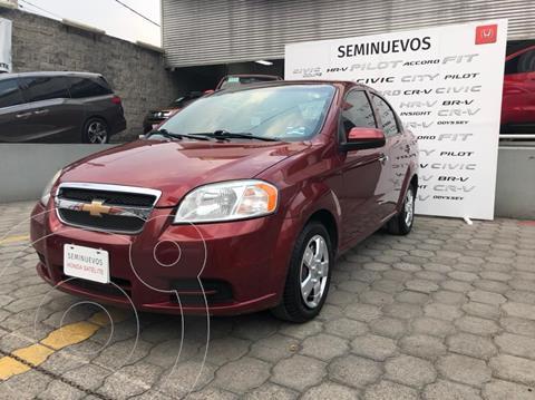 Chevrolet Aveo LT (Nuevo) usado (2011) color Rojo precio $79,999