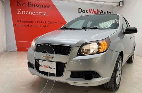 foto Chevrolet Aveo LT usado (2015) color Plata precio $132,000