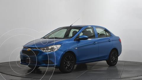 Chevrolet Aveo LT usado (2018) color Azul precio $148,000