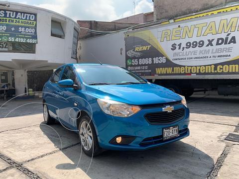 Chevrolet Aveo LT usado (2018) color Azul precio $184,000