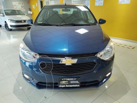 Chevrolet Aveo LT Aut usado (2020) color Azul Acero precio $218,900