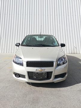 Chevrolet Aveo LT (Nuevo) usado (2015) color Crema precio $119,000
