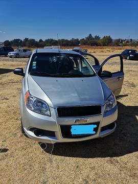 Chevrolet Aveo LT usado (2012) color Gris precio $88,985