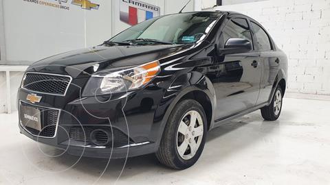 Chevrolet Aveo LS Aa usado (2016) color Negro precio $135,000