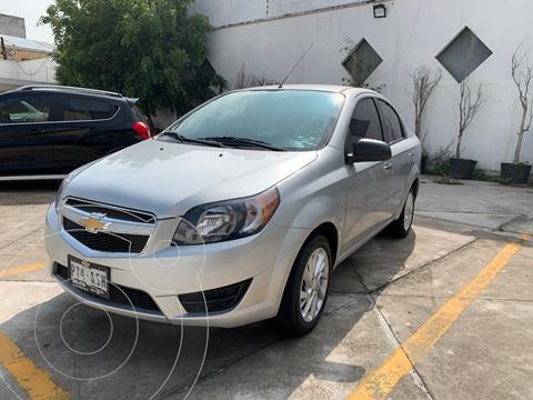 Chevrolet Aveo LT usado (2018) color Plata Dorado precio $155,000