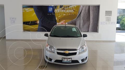 Chevrolet Aveo LTZ Aut usado (2017) color Plata Dorado precio $149,000