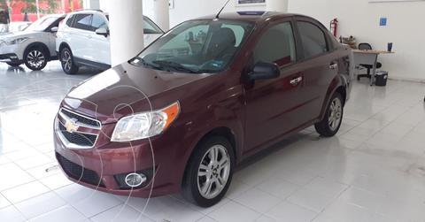 Chevrolet Aveo LTZ usado (2017) color Rojo precio $114,900