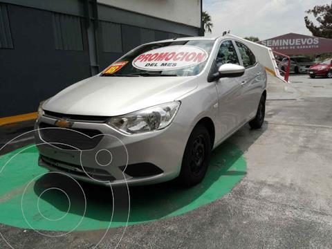 Chevrolet Aveo LS Aa usado (2018) color Plata precio $165,000