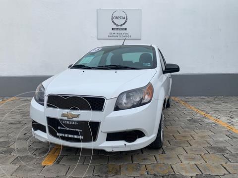 Chevrolet Aveo LT usado (2015) color Blanco precio $139,900