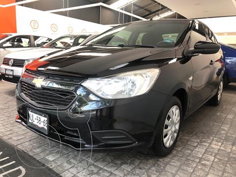 Chevrolet Aveo LS usado (2019) color Negro Grafito financiado en mensualidades(enganche $64,220 mensualidades desde $4,308)