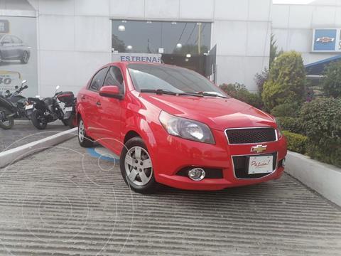 Chevrolet Aveo LS usado (2017) color Rojo precio $120,000