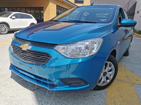Chevrolet Aveo LS usado (2019) color Azul Acero precio $160,000