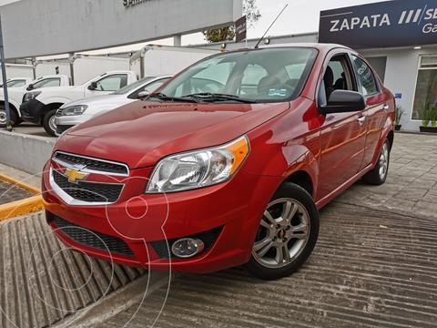 Chevrolet Aveo LTZ usado (2018) color Rojo financiado en mensualidades(enganche $42,000 mensualidades desde $4,126)