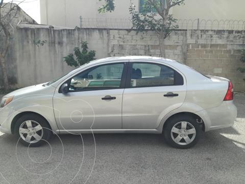 Chevrolet Aveo LS usado (2014) color Plata Brillante precio $85,000