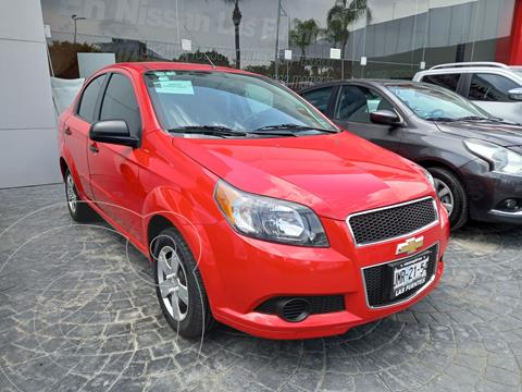Chevrolet Aveo LS Aut (Nuevo) usado (2016) color Rojo precio $135,000