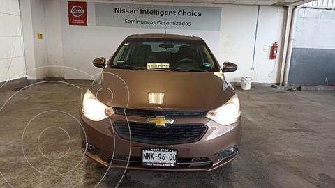 Chevrolet Aveo LT usado (2020) color Cafe precio $210,000