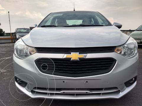 Chevrolet Aveo LT Aut usado (2020) color Plata financiado en mensualidades(enganche $18,990 mensualidades desde $6,141)