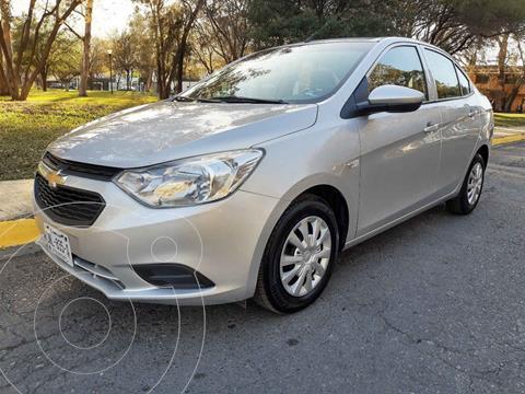 Chevrolet Aveo LS Aut usado (2018) color Plata precio $155,000