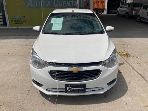 Chevrolet Aveo LS Aa usado (2018) color Blanco precio $175,000