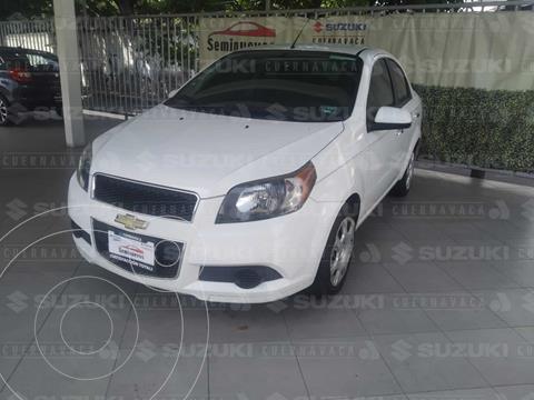 Chevrolet Aveo LT Bolsas de Aire y ABS (Nuevo) usado (2017) color Blanco precio $149,000