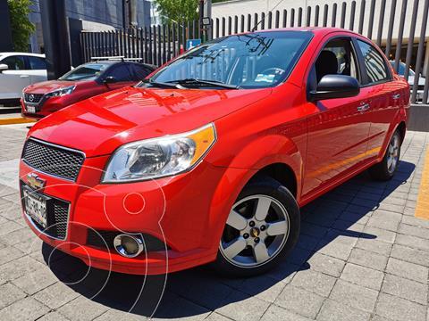 Chevrolet Aveo LTZ Aut usado (2012) color Rojo Tinto precio $110,000