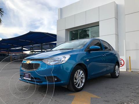 Chevrolet Aveo LT Aut usado (2018) color Azul precio $180,000