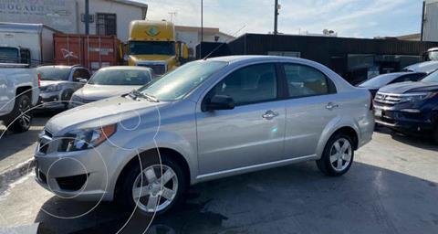 Chevrolet Aveo LS Aut usado (2017) color Plata precio $139,800