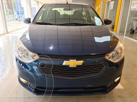 Chevrolet Aveo LT Aut usado (2020) color Azul Acero precio $218,901