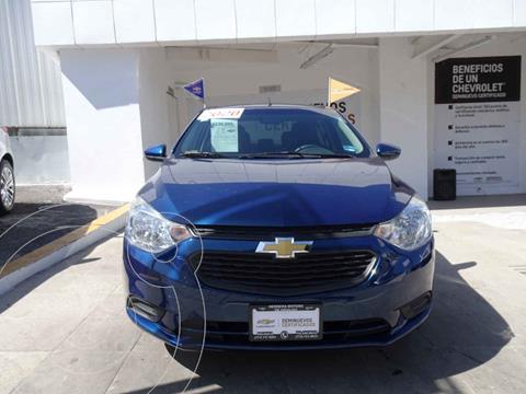 Chevrolet Aveo Paq B usado (2020) color Azul precio $230,000