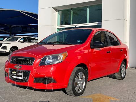 Chevrolet Aveo LS Aa usado (2016) color Rojo precio $149,500