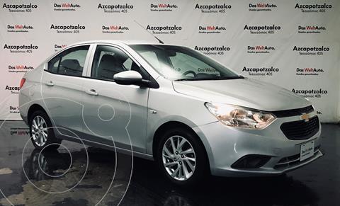 Chevrolet Aveo LT Aut (Nuevo) usado (2019) color Plata Brillante financiado en mensualidades(enganche $37,800 mensualidades desde $4,127)