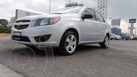 Chevrolet Aveo LS (Nuevo) usado (2018) color Plata precio $135,000