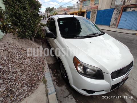Chevrolet Aveo LS Aa usado (2014) color Blanco precio $75,500