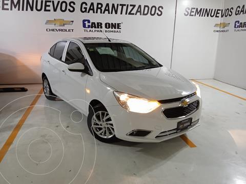 Chevrolet Aveo LTZ usado (2018) color Blanco precio $205,000