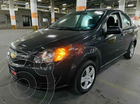 Chevrolet Aveo LS usado (2017) color Gris precio $119,000