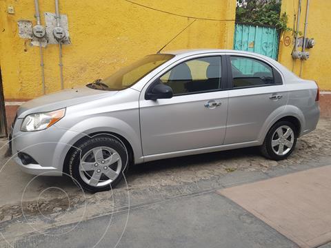 Chevrolet Aveo LT Aut usado (2016) color Plata precio $107,000