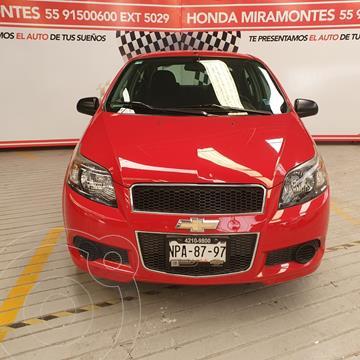 Chevrolet Aveo LS usado (2013) color Rojo precio $100,000