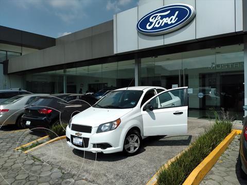 Chevrolet Aveo 4P LS L4/1.6 MAN usado (2017) color Blanco precio $123,002