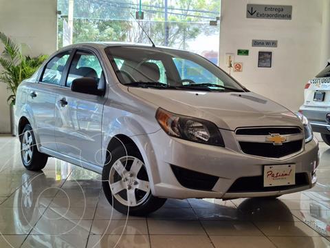 Chevrolet Aveo LT Aut usado (2017) color Plata Dorado precio $128,000